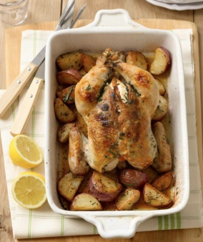 Roasted Chicken and Potatoes | Melissa d'Arabian